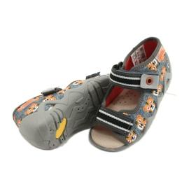 Chaussures enfants Befado jaune 350P016 gris multicolore 4