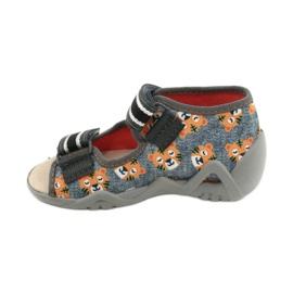 Chaussures enfants Befado jaune 350P016 gris multicolore 2