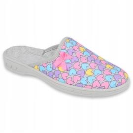 Befado chaussures enfants colorées 707Y410 argent multicolore 1