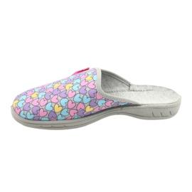 Befado chaussures enfants colorées 707Y410 argent multicolore 2