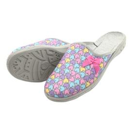 Befado chaussures enfants colorées 707Y410 argent multicolore 4