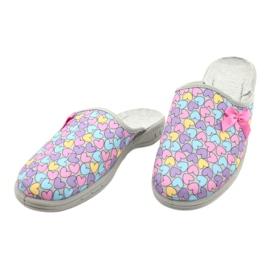 Befado chaussures enfants colorées 707Y410 argent multicolore 3