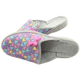 Befado chaussures enfants colorées 707Y410 argent multicolore 5