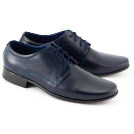 Lukas Chaussures de communion formelle enfant J1 bleu marine 4