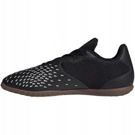 Chaussures de football Adidas Predator Freak.4 In Sala FY1042 noir noir 1