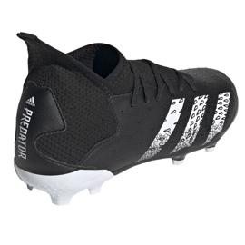 Chaussure de foot adidas Predator Freak.3 Fg Junior FY1031 noir noir 4