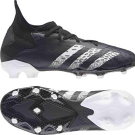 Chaussure de foot adidas Predator Freak.3 Fg Junior FY1031 noir noir 8