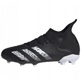 Chaussure de foot adidas Predator Freak.3 Fg Junior FY1031 noir noir 2