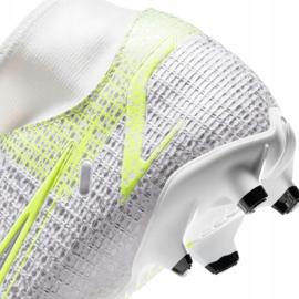 Nike Mercurial Superfly 8 Academy FG / MG M CV0843 107 chaussures de football blanc 4