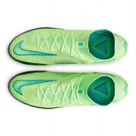 Chaussure de football Nike Phantom Gt Elite Dynamic Fit Fg M CW6589 303 multicolore vert 4