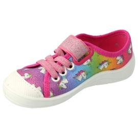 Chaussures enfant Befado 251X178 Licorne bleu orange rose argent vert 2