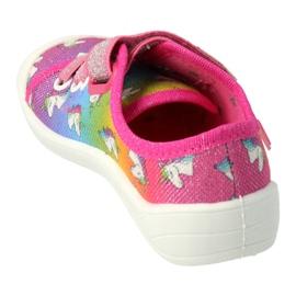 Chaussures enfant Befado 251X178 Licorne bleu orange rose argent vert 1