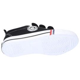 American Club Baskets noires American LH33 / 21 Velcro le noir 1