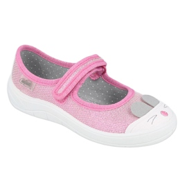 Chaussures enfant Befado 208X045 rose 1