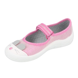 Chaussures enfant Befado 208X045 rose 2