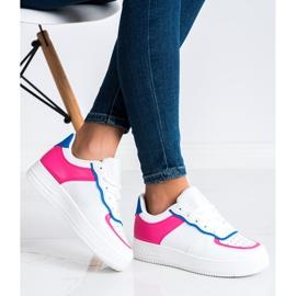 SHELOVET Chaussures de sport à la mode blanche 2