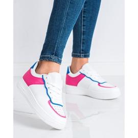 SHELOVET Chaussures de sport à la mode blanche 1