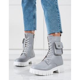 Seastar Ouvriers avec poche gris 2