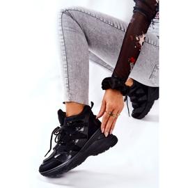 POTOCKI Chaussures compensées noires Hesane Sport le noir 3