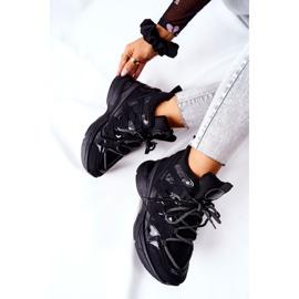 POTOCKI Chaussures compensées noires Hesane Sport le noir 1