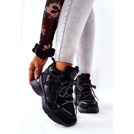 POTOCKI Chaussures compensées noires Hesane Sport le noir 6