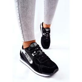 Chaussures de sport en cuir Big Star II274271 Noir blanche le noir 5
