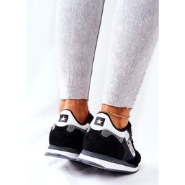 Chaussures de sport en cuir Big Star II274271 Noir blanche le noir 3