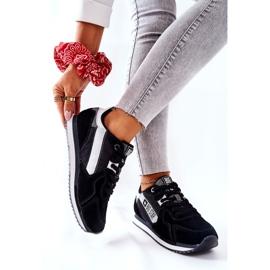 Chaussures de sport en cuir Big Star II274271 Noir blanche le noir 6
