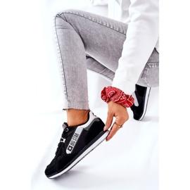 Chaussures de sport en cuir Big Star II274271 Noir blanche le noir 8