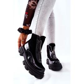 Bottes isolées en cuir Laura Messi Noir 2371 le noir 1