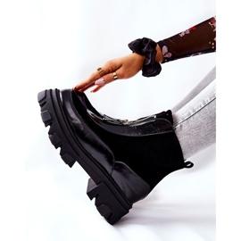 Bottes isolées en cuir Laura Messi Noir 2371 le noir 5
