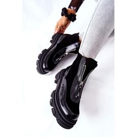 Bottes isolées en cuir Laura Messi Noir 2371 le noir 6
