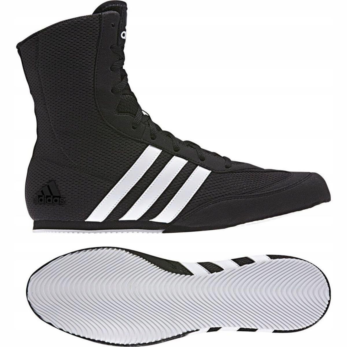 Détails sur Noir Adidas Box Hog Ii chaussures de boxe