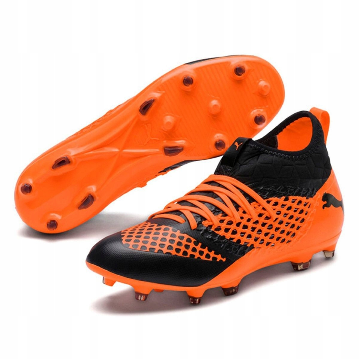 Détails sur Chaussures de football Puma Future 2.3 Netfit Fg M 104832 02
