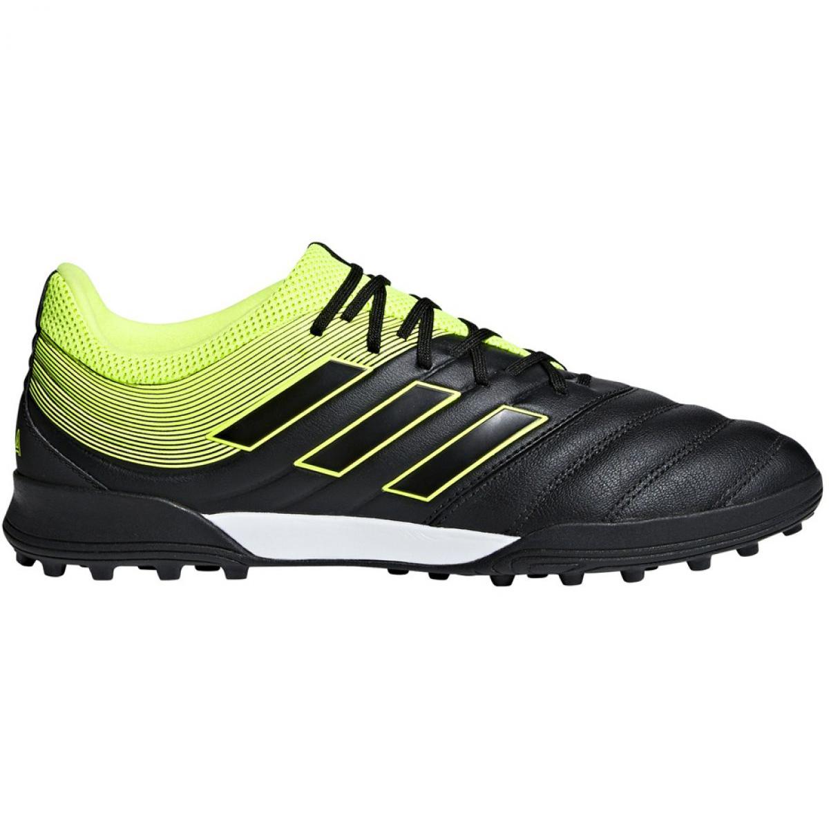 Chaussures de foot adidas Copa Mundial TF Rouge Crampons De