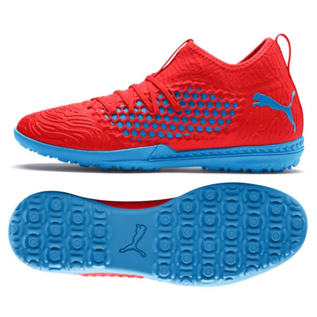Détails sur Chaussures de football Puma Future 19.3 Netfit Tt M 105542 01