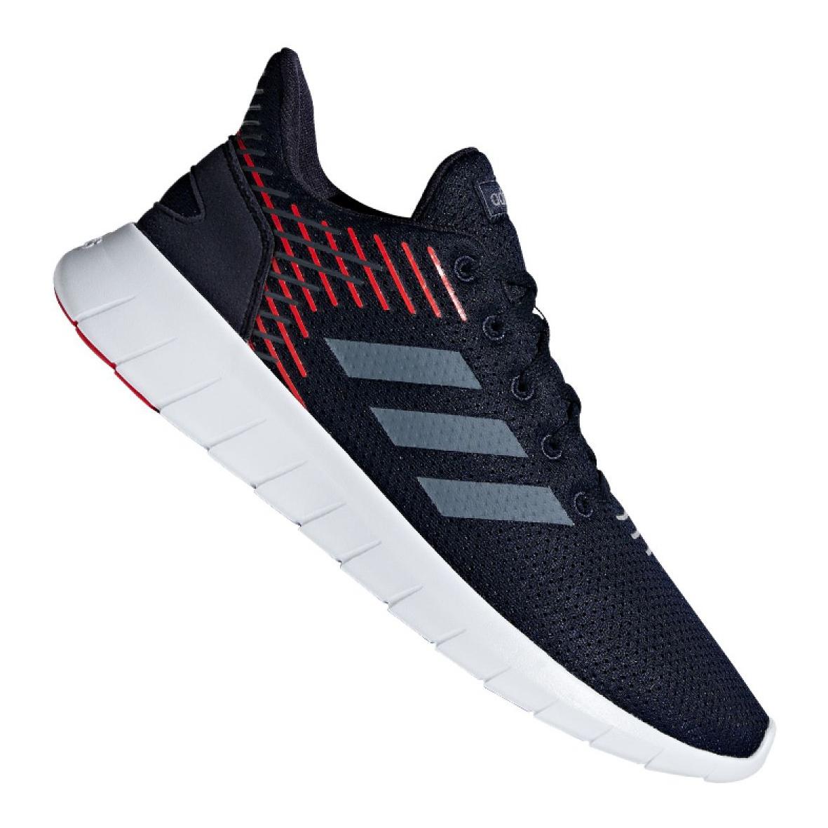 Détails sur Chaussures de running adidas Asweerun M F36334 multicolore
