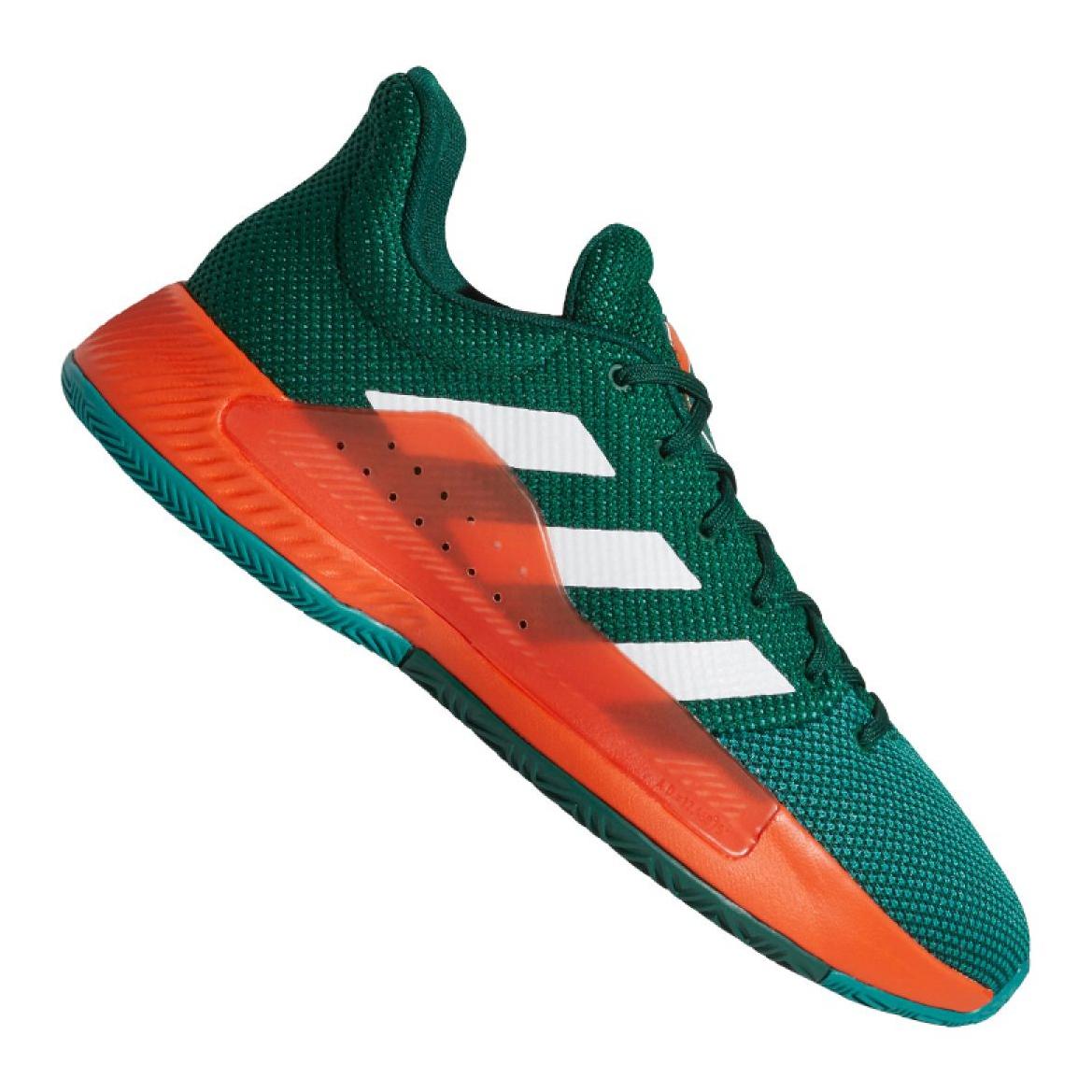 Détails sur Chaussures de basket adidas Pro Bounce Madness Low 2019 M BB9226 vert vert
