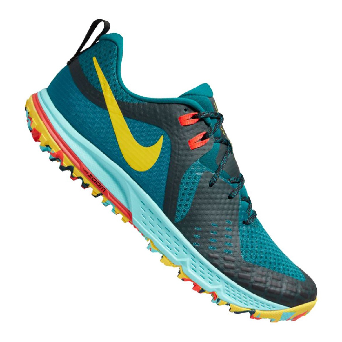Dettagli su Chaussures de running Nike Air Zoom Wildhorse 5 M AQ2222 300 bleu