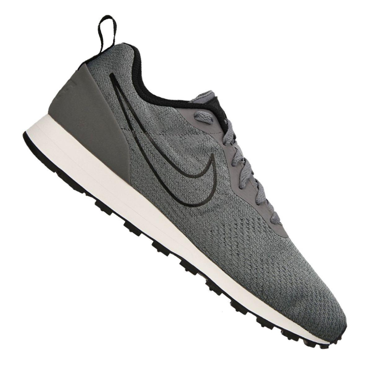 Détails sur Chaussures Nike Md Runner 2 Eng M M 916774 001 gris