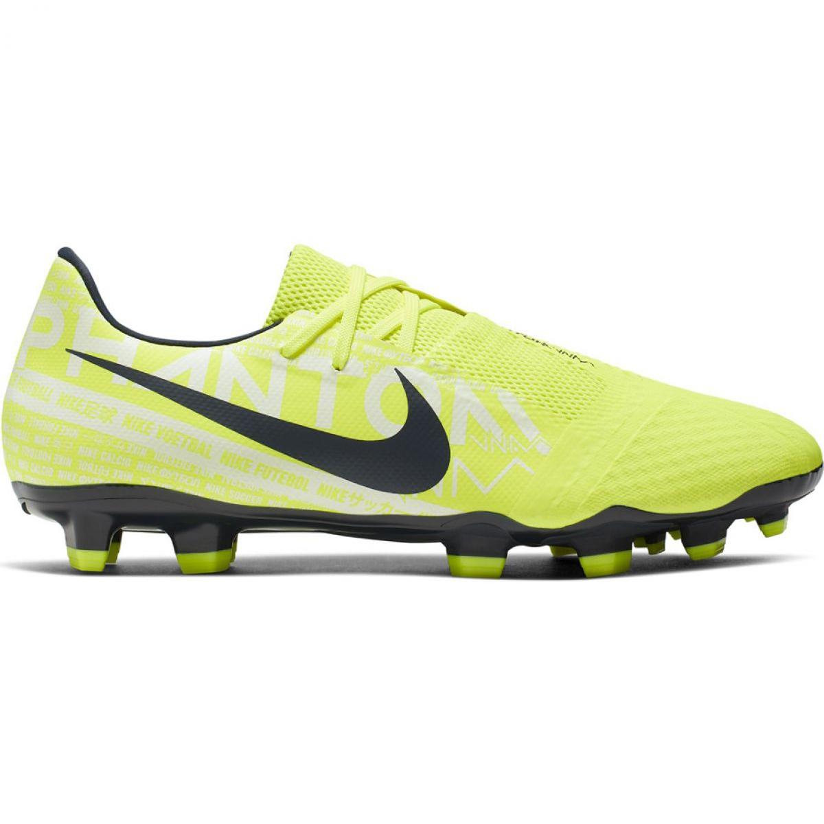 Détails sur Chaussures de foot Nike Phantom Venom Academy Fg M AO0566 717 jaune
