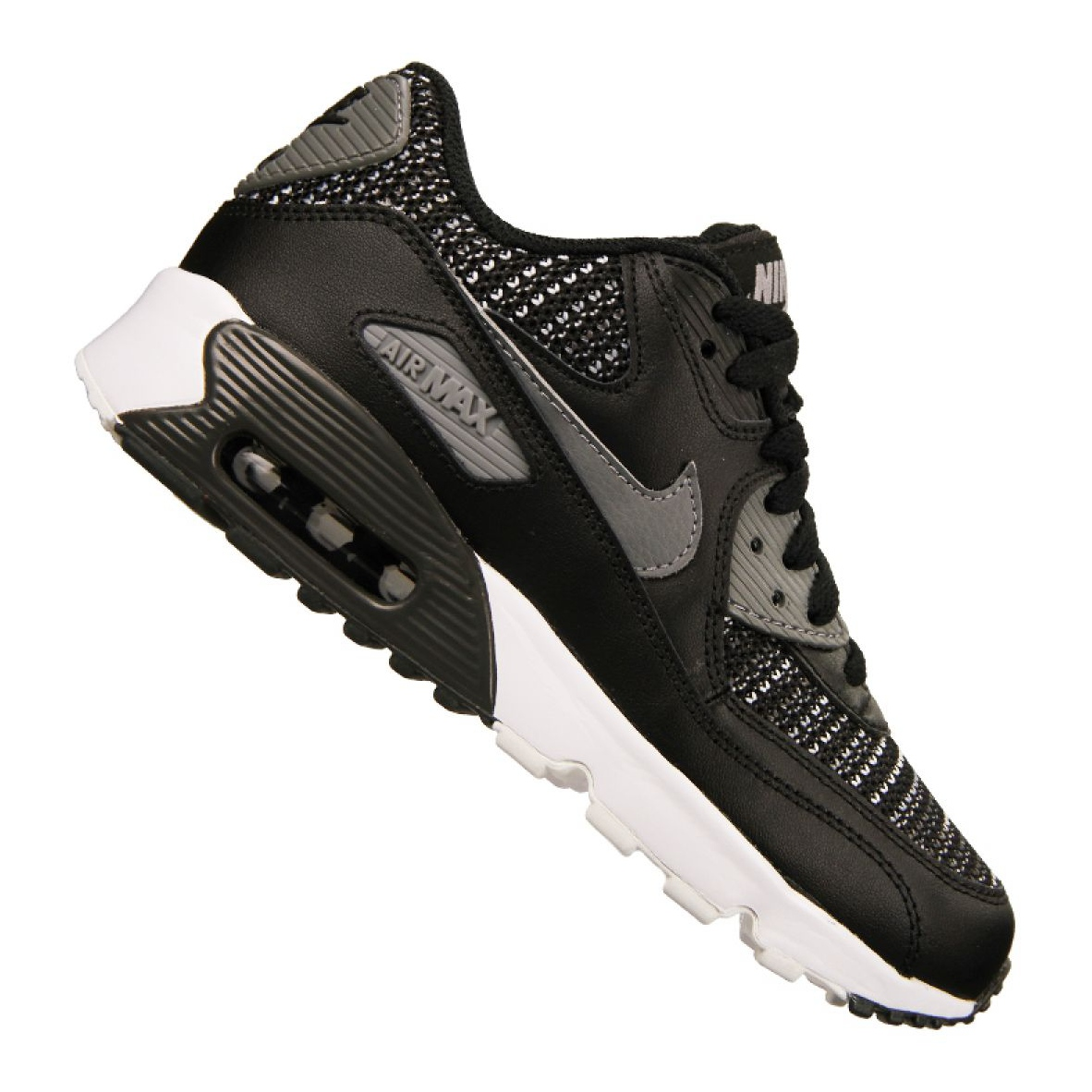 Détails sur Nike Air Max 90 Mesh Se Gs Jr AA0570 002 Chaussures multicolore
