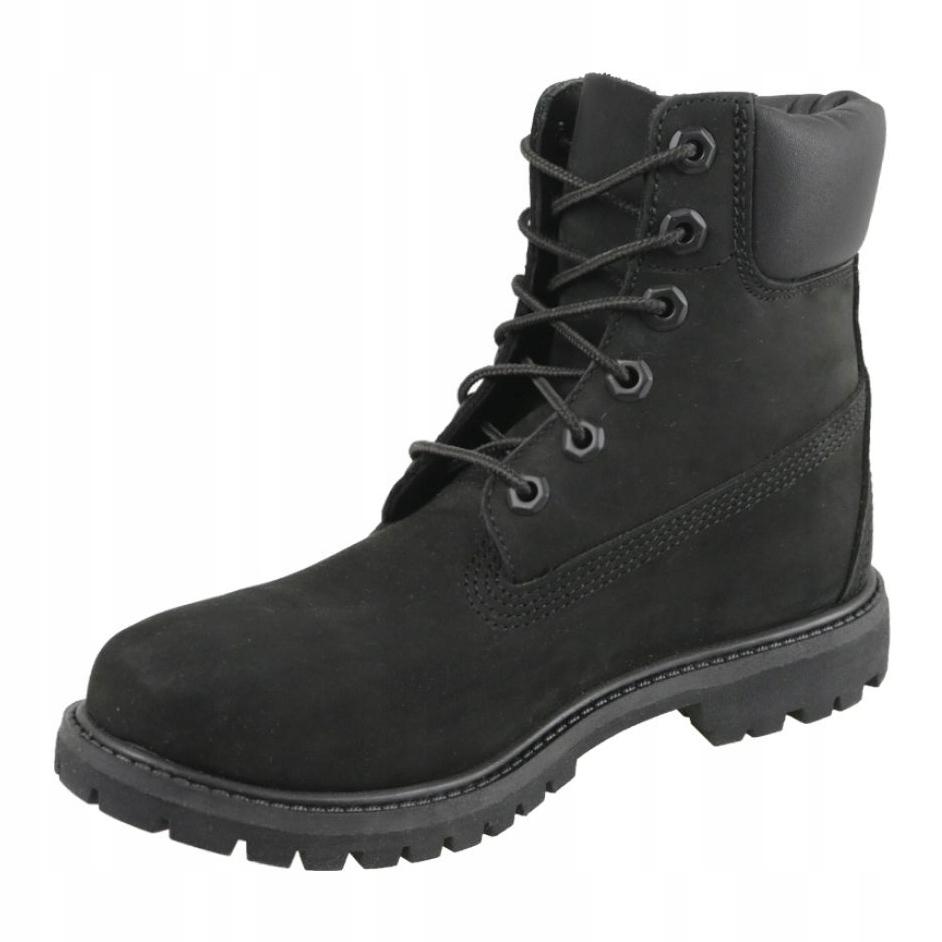 Détails sur Chaussures Timberland 6 Premium In Boot Jr 8658A noir