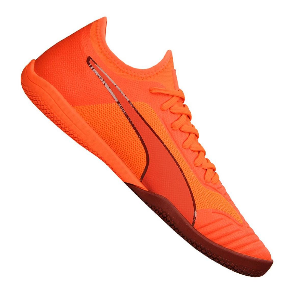 chaussure puma orange