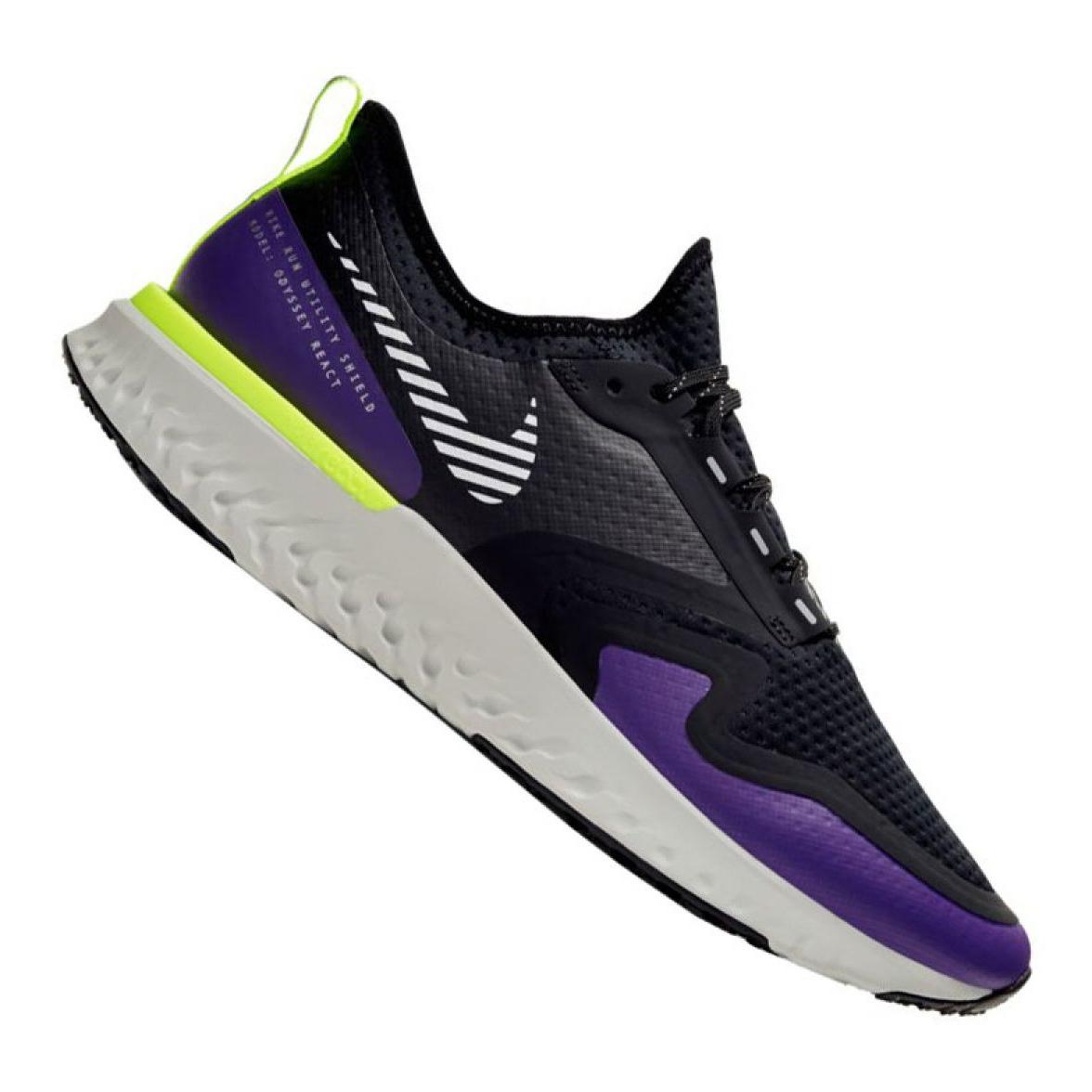 Détails sur Chaussure de course Nike Odyssey React 2 Shield M BQ1671 002