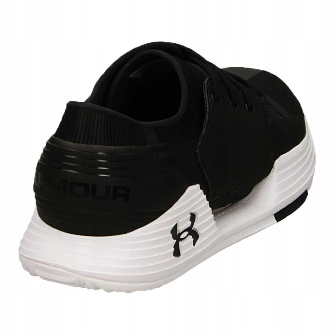 Under Armour Speedform Amp 2.0 Homme Formation Chaussures-Noir