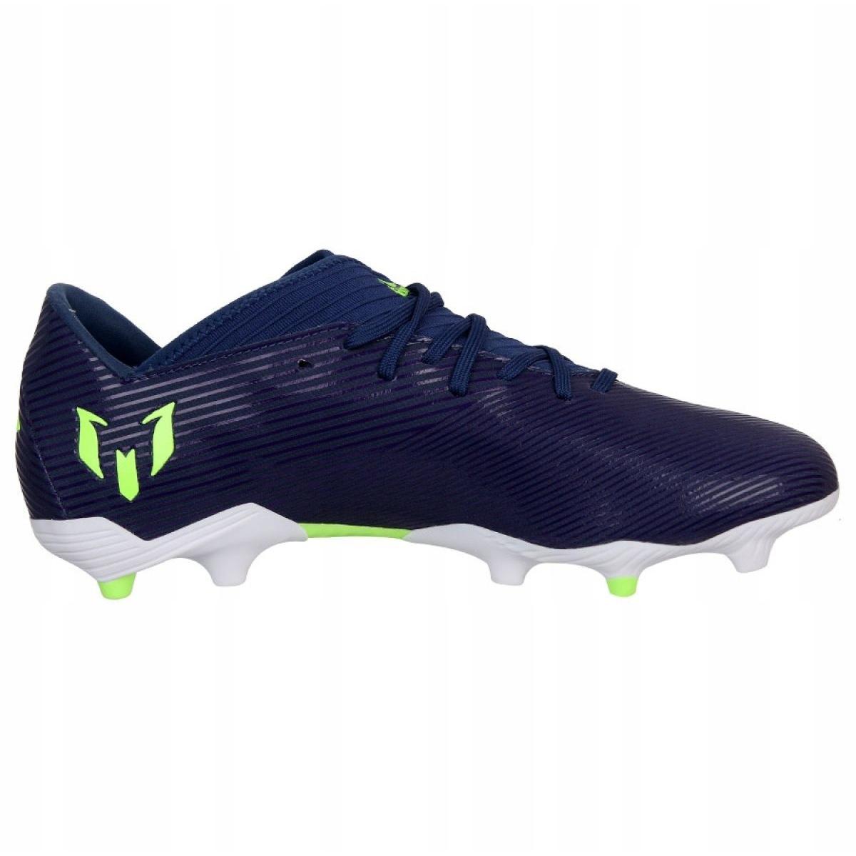 Chaussure de Football adidas Nemeziz Messi 17.3 FG Bleu Junior