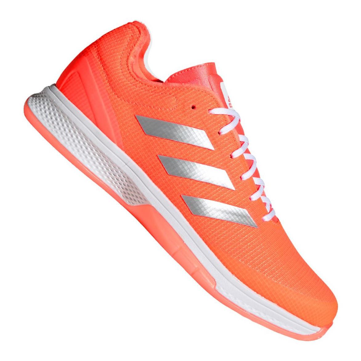 Détails sur Adidas Counterblast Bounce M EH0851 chaussures orange multicolore