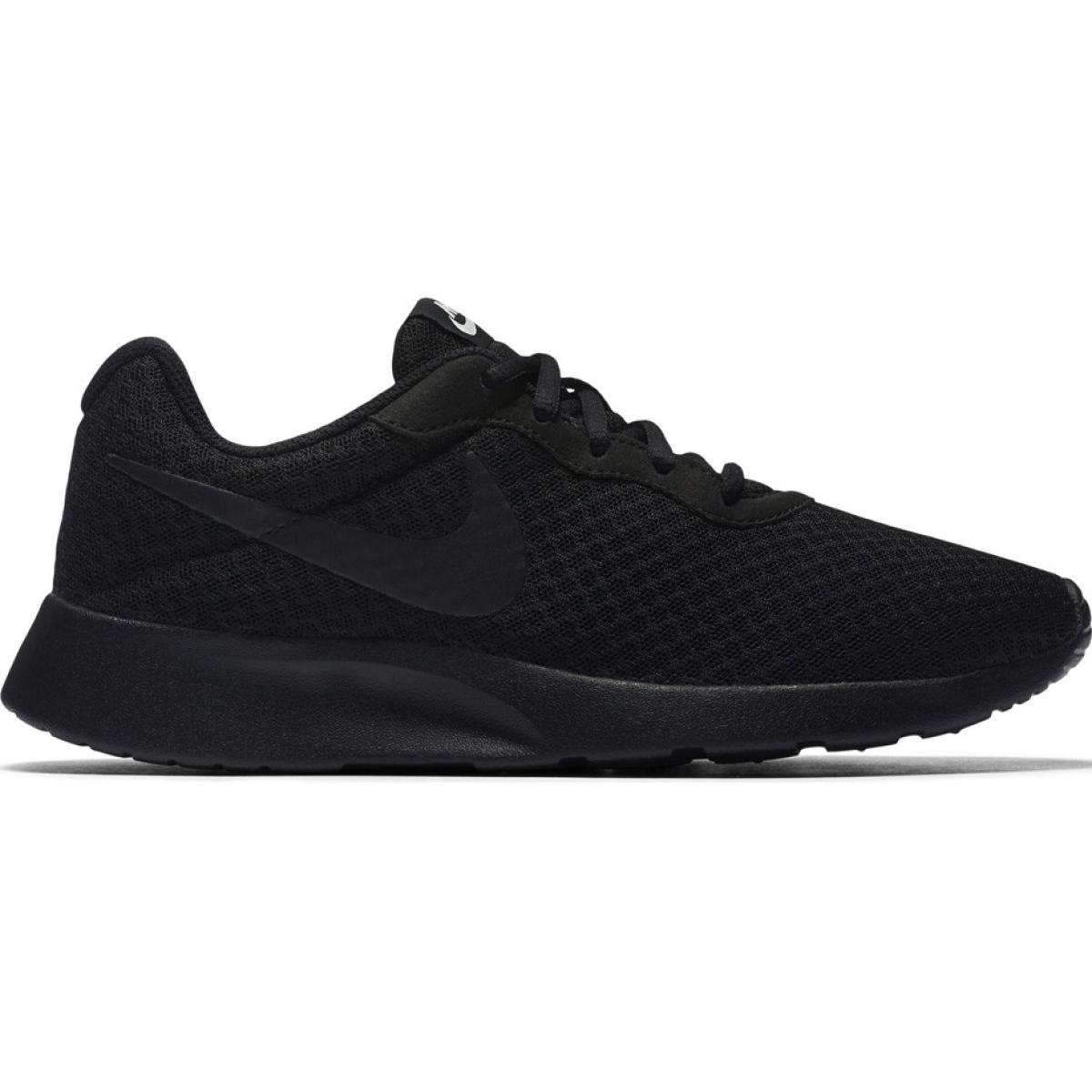 Détails sur Nike Tanjun W 812655 002 chaussures noir